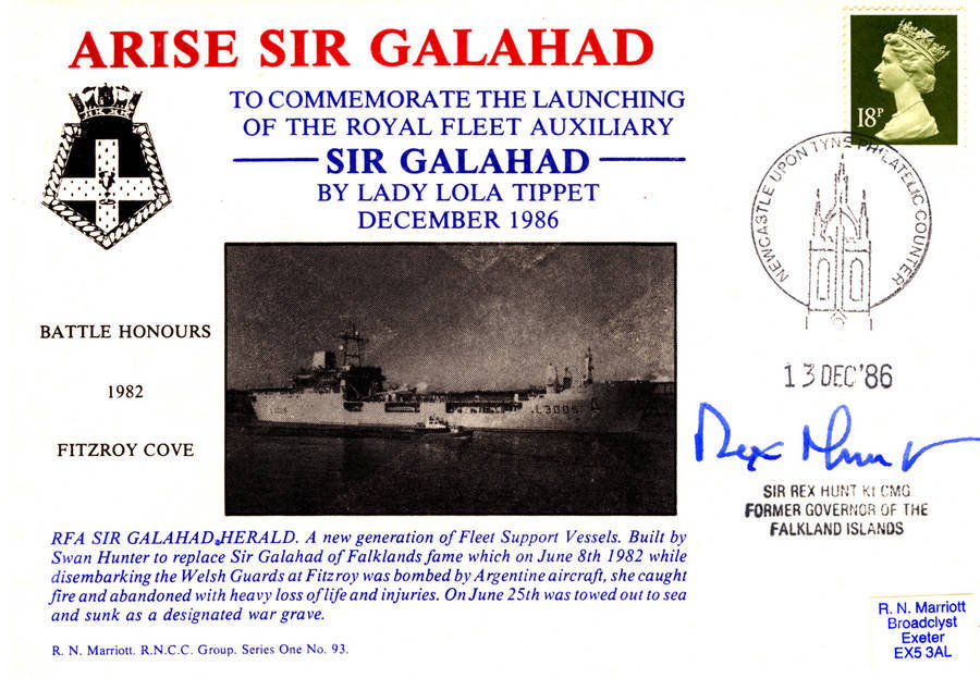 The (new) Sir Galahad