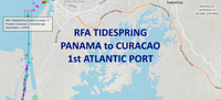 Tidespring - Panama to Curacao